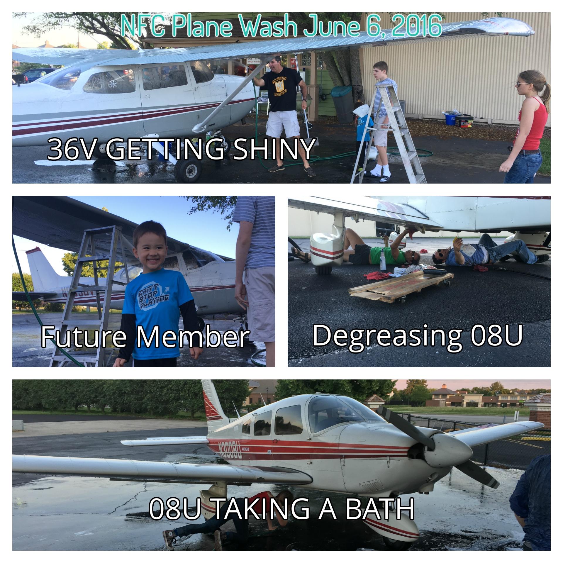 June Plane Wash